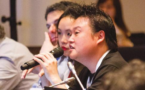 Edmon Chung at ICANN 57