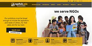 website screen capture: www.ngohub.asia