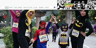 Website screen capture: www.superheroesrace.asia