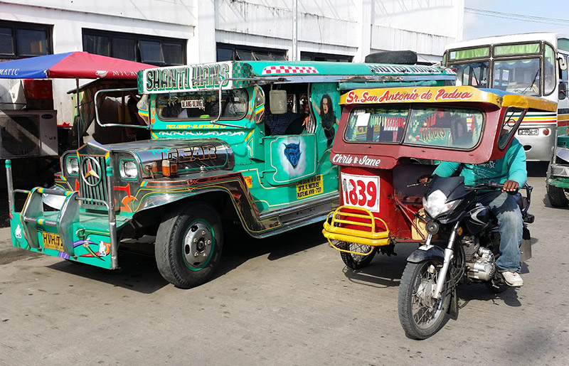Photo: Phillippines public transportation