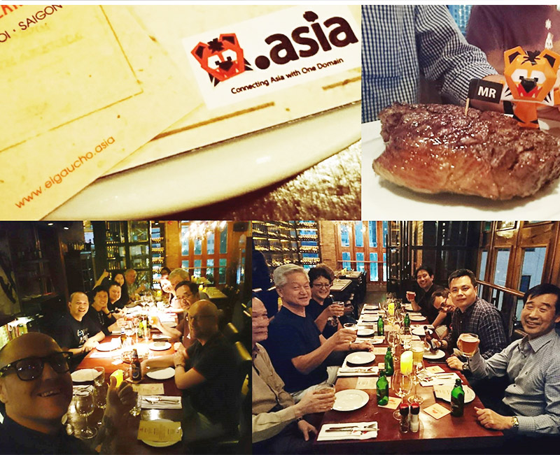 Photo: DotAsia Board dinner at El Gaucho