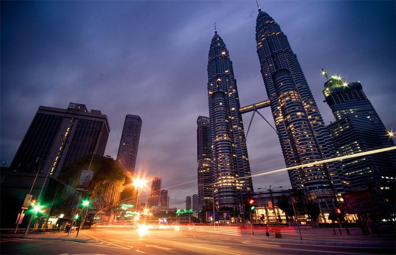 Editorial Photo: Malaysia is Truly Asia! - Petronas Towers, Kuala Lumpur, Malaysia