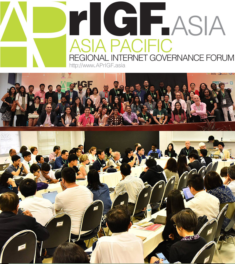 Photo: APrIGF.Asia Group photo of participants and sessions