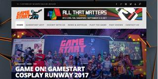 website screen capture: gamestart.asia