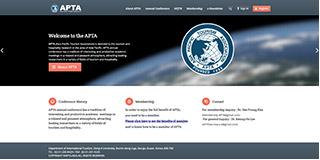Website screen capture: apta.asia