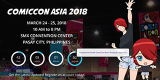 website screen capture: comiccon.asia.asia