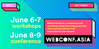 website screen capture: webconf.asia