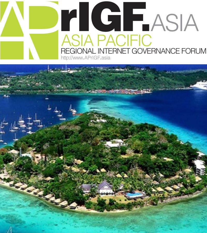 Register for APrIGF Vanuatu 2018 now!