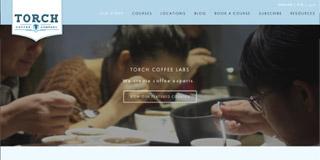 website screen capture: torchcoffee.asia