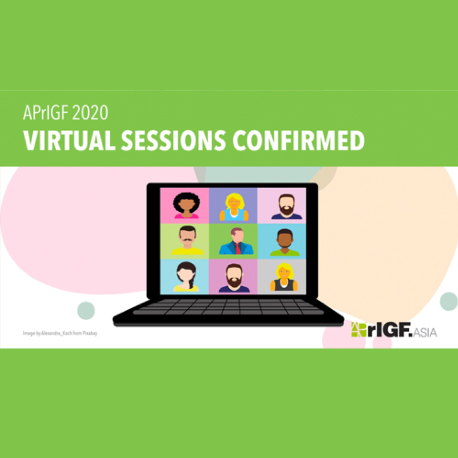 APrIGF 2020 Virtual Sessions Confirmed