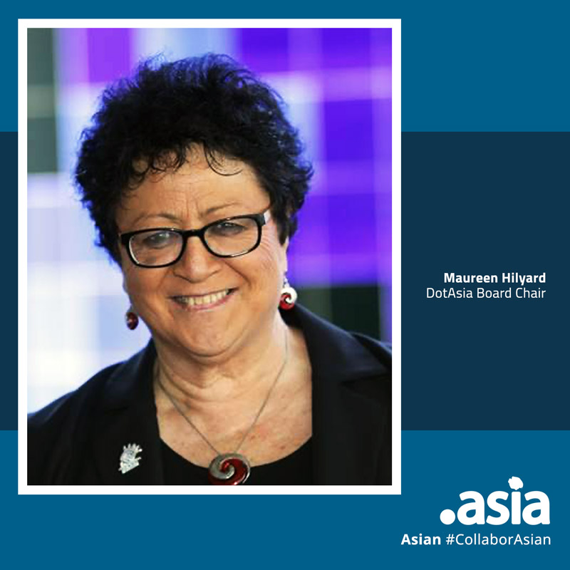 DotAsia Board Chair Remarks: Maureen Hilyard