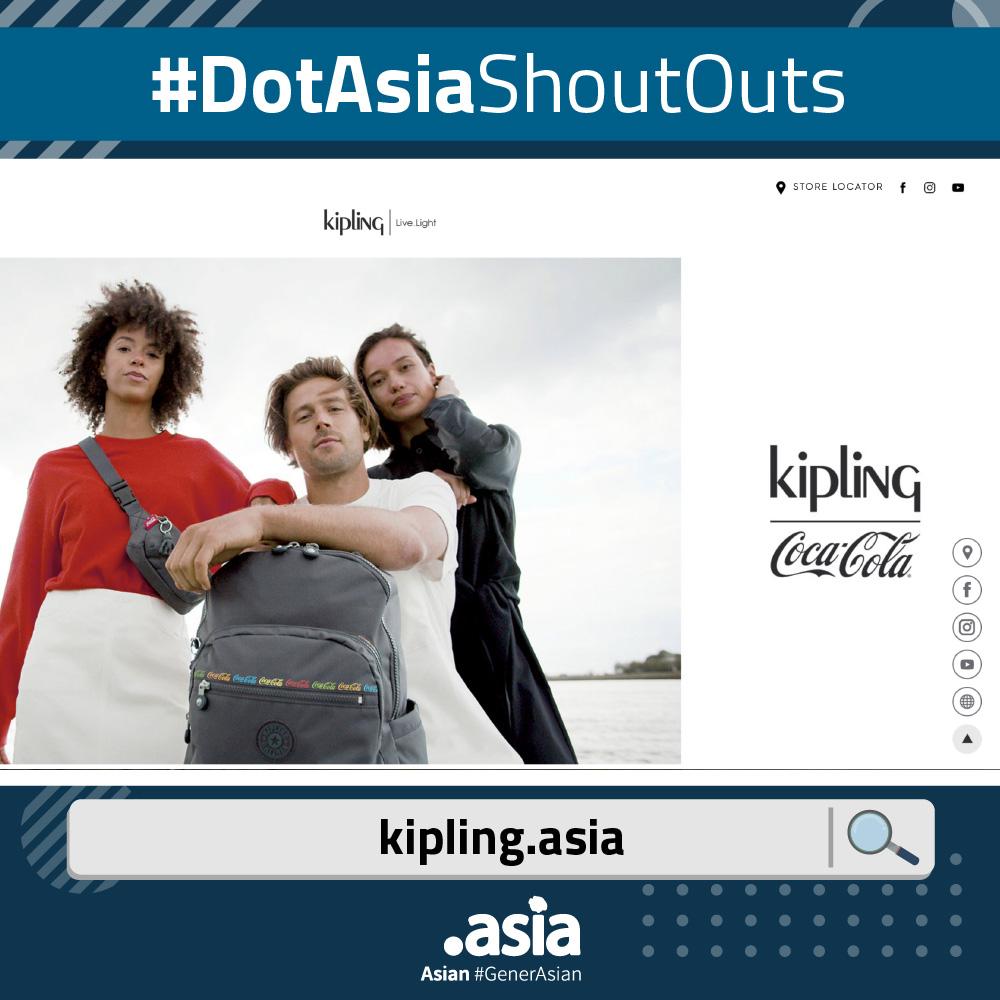 DotAsiaShoutOuts - Kipling.Asia Website Screenshot